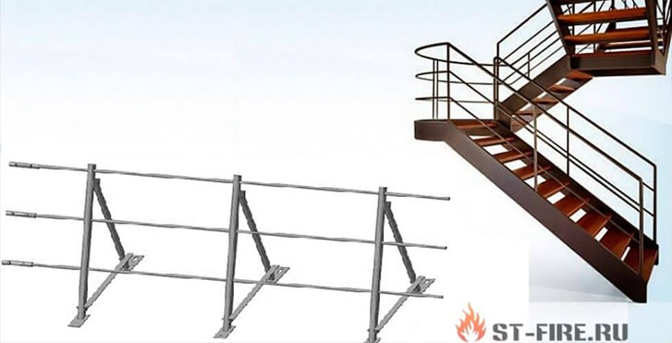 Испытание лестниц и ограждений крыш